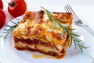 Lasagna without using the oven!