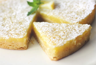 Lemon Tarte, 144 calories per serving. And simply divine.
