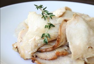 Our Moist, Succulent Roasted Turkey Slices