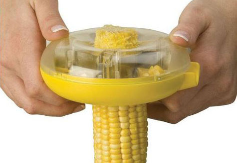 One Step Corn Stripper