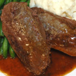 Beef With Bordelaise Sauce